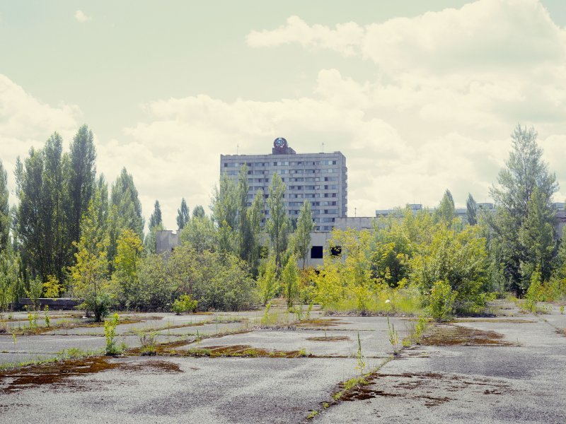 Prypiat, a ghost city. Ukraine.